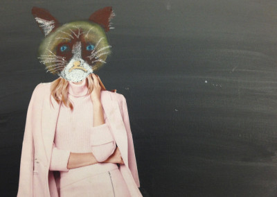 Richard Ahnert: Mixed Media Animal/Human Portraits (4-8)