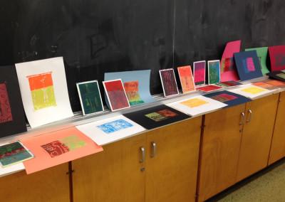 Graven Feather Studios: Relief/Block Printmaking (K-5)