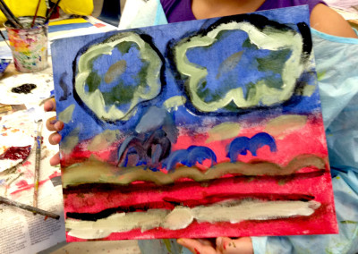 "Painters Eleven: Abstract expressionism – ""Painting out my Feelings"" (K-4)"